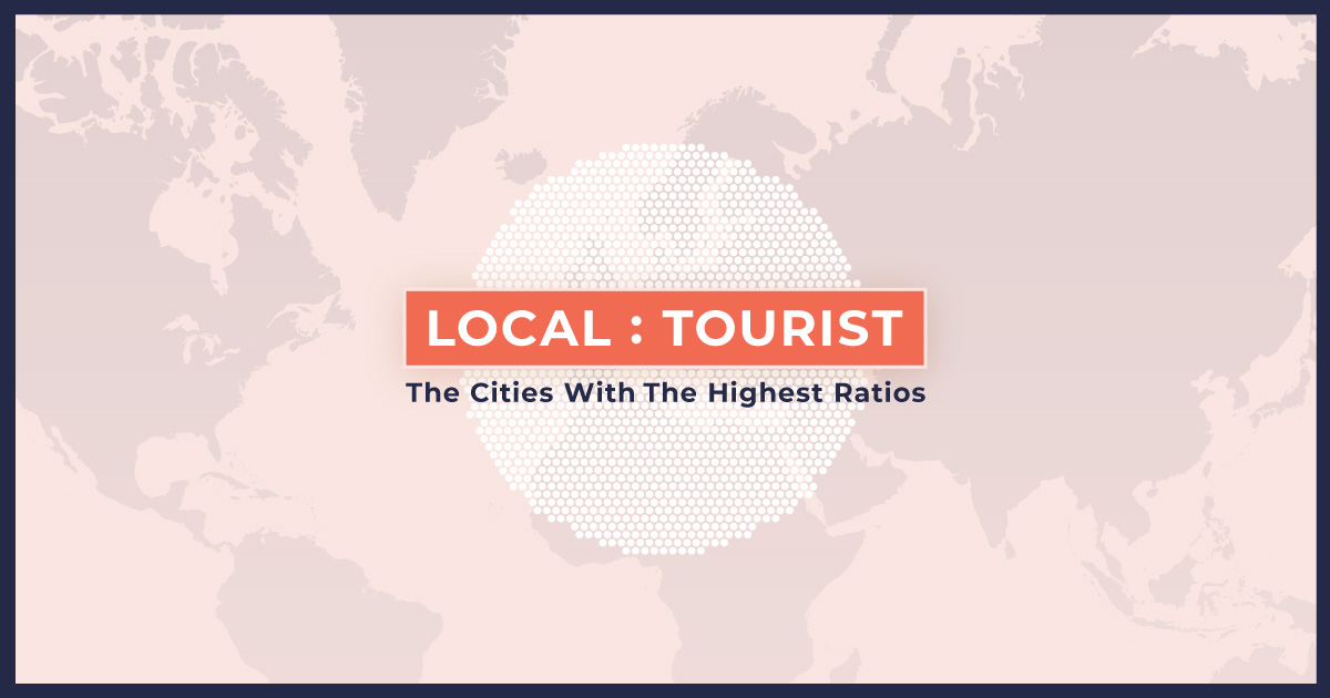 The World's Cities With The Most Tourists